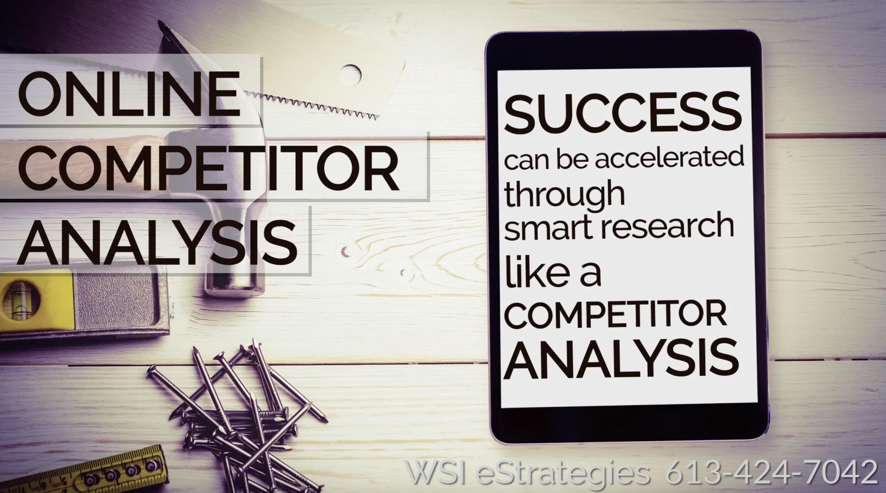 Competitor Analysis Ottawa